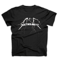 JUSTINSANITY - METALLICA TEE <br> Proceeds support the Leukemia & Lymphoma Society