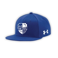 LAKE OWEGO UNDER ARMOUR FLAT BRIM STRETCH FITTED CAP