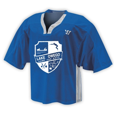 LAKE OWEGO OFFICIAL LACROSSE JERSEY