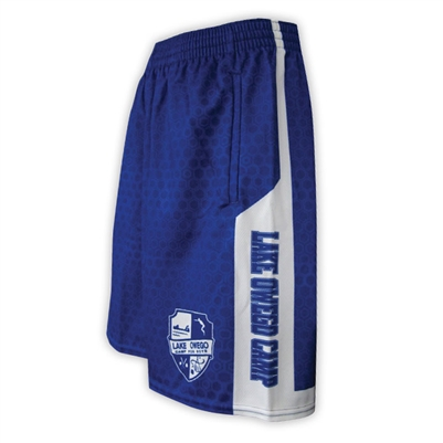 LAKE OWEGO SUBLIMATED BASKETBALL SHORTS