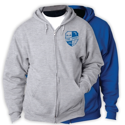 LAKE OWEGO FULL ZIP HOODED SWEATSHIRT