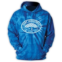 LAURELWOOD ROYAL TIE DYE SWEATSHIRT