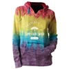 LAURELWOOD COURTNEY BURNOUT V-NOTCH SWEATSHIRT