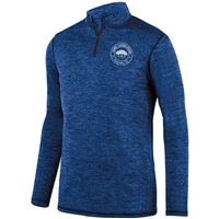 LAURELWOOD LADIES INTENSIFY HEATHER 1/4 ZIP PULLOVER