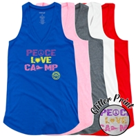 LAURELWOOD PEACE, LOVE, CAMP AT EASE TANK