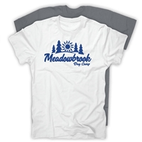 MEADOWBROOK COUNTRY DAY CAMP AMERICAN APPAREL COTTON TEE