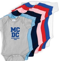 MEADOWBROOK COUNTRY DAY CAMP INFANT BODYSUIT