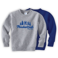 MEADOWBROOK COUNTRY DAY CAMP TODDLER CREW SWEATSHIRT