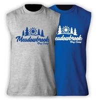 MEADOWBROOK COUNTRY DAY CAMP SLEEVLESS TEE