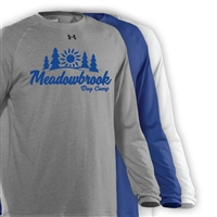 MEADOWBROOK COUNTRY DAY CAMP UNDER ARMOUR LONGSLEEVE TEE