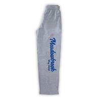 MEADOWBROOK COUNTRY DAY CAMP OPEN BOTTOM SWEATPANTS WITH POCKETS
