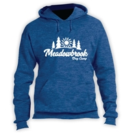 MEADOWBROOK COUNTRY DAY CAMP VINTAGE HOODED SWEATSHIRT