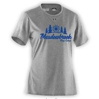MEADOWBROOK COUNTRY DAY CAMP LADIES UNDER ARMOUR TEE