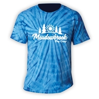 MEADOWBROOK COUNTRY DAY CAMP TIE DYE TEE