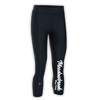 MEADOWBROOK COUNTRY DAY CAMP LADIES UNDER ARMOUR HEAT GEAR ARMOUR CAPRI