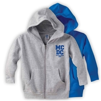 MEADOWBROOK COUNTRY DAY CAMP TODDLER FULL ZIP HOODED SWEATSHIRT