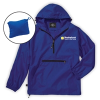 MEADOWBROOK COUNTRY DAY CAMP PACK-N-GO PULLOVER JACKET