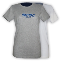 MEADOWBROOK COUNTRY DAY CAMP GIRLS FITTED TEE