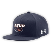 MVP BASKETBALL CAMP UNDER ARMOUR FLAT BRIM STRETCH FITTED CAP