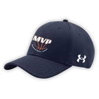 MVP BASKETBALL CAMP UNDER ARMOUR CURVED BRIM STRETCH FITTED CAP