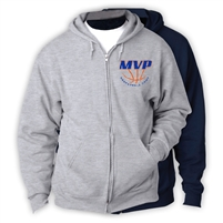 MVP BASKETBALL CAMP FULL ZIP HOODED SWEATSHIRT