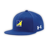 NOCK-A-MIXON UNDER ARMOUR FLAT BRIM STRETCH FITTED CAP