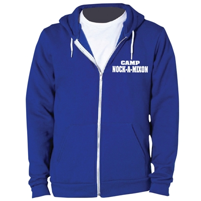 NOCK-A-MIXON AMERICAN APPAREL FLEX FLEECE HOODY
