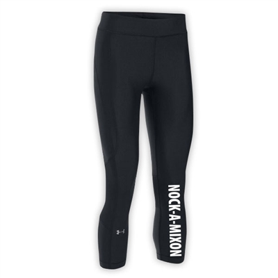 NOCK-A-MIXON LADIES UNDER ARMOUR HEAT GEAR ARMOUR CAPRI