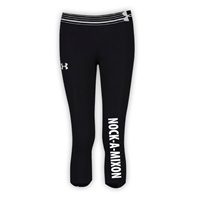 NOCK-A-MIXON GIRLS UNDER ARMOUR HEAT GEAR ALPHA CAPRI