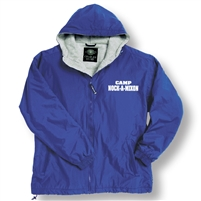 NOCK-A-MIXON ZIP JACKET WITH HOOD