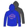 NOCK-A-MIXON FULL SLEEVE SNIP HOODY CUT BY ALI & JOE