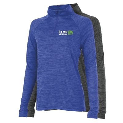 CAMP NEWMAN LADIES SPACE DYE PERFROMANCE PULLOVER