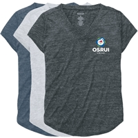OSRUI RELAXED HEATHER V-TEE