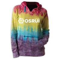 OSRUI COURTNEY BURNOUT V-NOTCH SWEATSHIRT