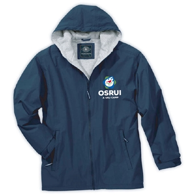 OSRUI FULL ZIP JACKET WITH HOOD