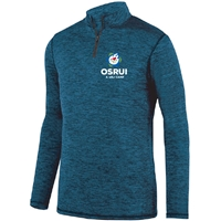 OSRUI LADIES INTENSIFY HEATHER 1/4 ZIP PULLOVER