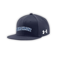 BIRCHMONT UNDER ARMOUR FLAT BRIM STRETCH FITTED CAP