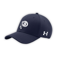 BIRCHMONT UNDER ARMOUR CURVED BRIM STRETCH FITTED CAP