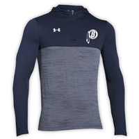 BIRCHMONT UNDER ARMOUR TECH 1/4 ZIP HOODY