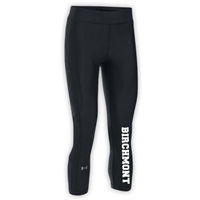 BIRCHMONT LADIES UNDER ARMOUR HEAT GEAR ARMOUR CAPRI