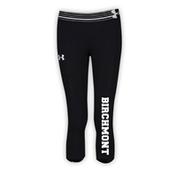 BIRCHMONT GIRLS UNDER ARMOUR HEAT GEAR ALPHA CAPRI