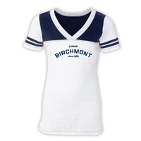 BIRCHMONT  SPORTY BURNOUT V-NECK