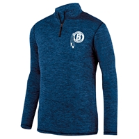 BIRCHMONT LADIES INTENSIFY HEATHER 1/4 ZIP PULLOVER
