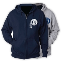BIRCHMONT FULL ZIP HOODED SWEATSHIRT