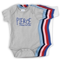 PIERCE COUNTRY DAY CAMP INFANT BODYSUIT