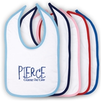PIERCE COUNTRY DAY CAMP OFFICIAL INFANT VELCRO BIB