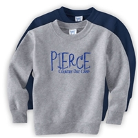 PIERCE COUNTRY DAY CAMP OFFICIAL TODDLER CREW SWEATSHIRT