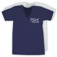 PIERCE COUNTRY DAY CAMP AMERICAN APPAREL UNISEX JERSEY V-NECK TEE