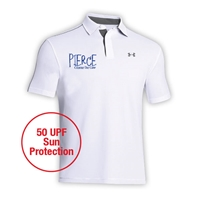 PIERCE COUNTRY DAY CAMP ADULT UNDER ARMOUR LEADERBOARD POLO
