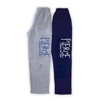 PIERCE COUNTRY DAY CAMP OPEN BOTTOM SWEATPANTS WITH POCKETS